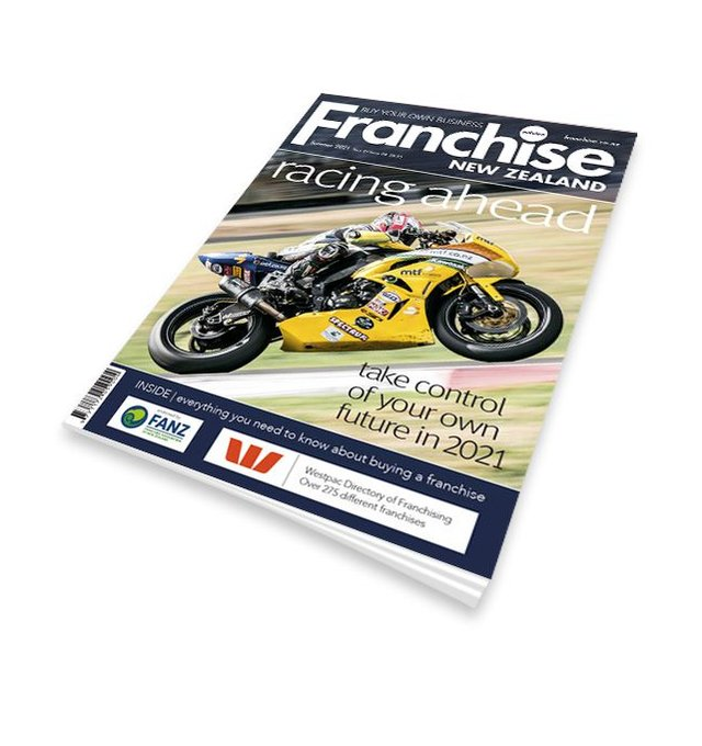 Franchise NZ magazine cover
