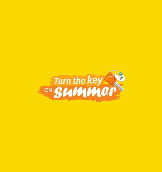 Turn the key on summer logo